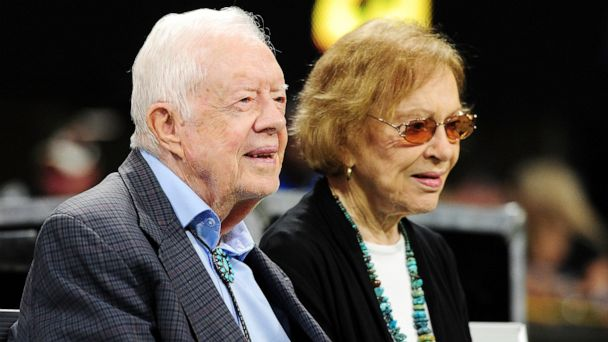 Jimmy and Rosalynn Carter celebrate 73 years of marriage