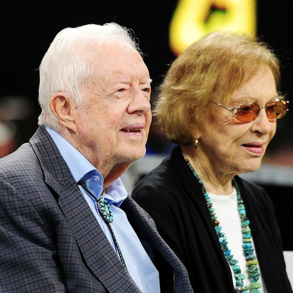 Jimmy And Rosalynn Carter Celebrate 73 Years Of Marriage Abc News