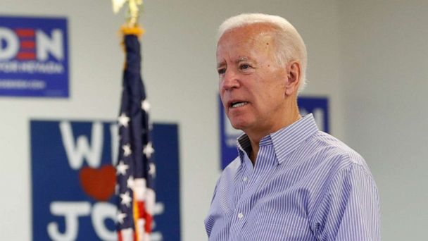 Biden defends about face on crime law he helped create