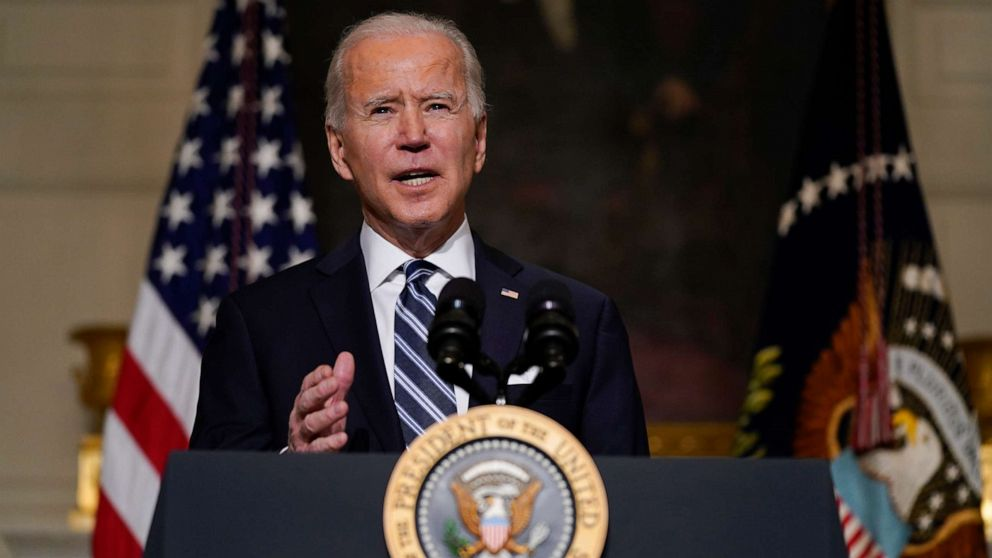 Biden says tackling climate change will create jobs, bring economic recovery - ABC News