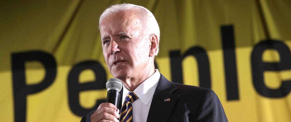 PHOTO: Former Vice President Joe Biden addresses the Moral Action Congress of the Poor Peoples Campaign, June 17, 2019, at Trinity Washington University in Washington, DC.