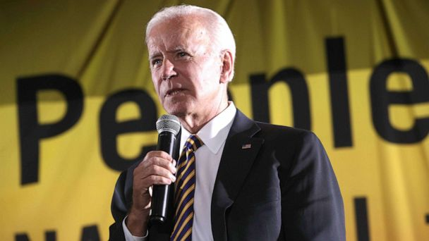 The Note: 2020 race testing Joe Biden at sore spots