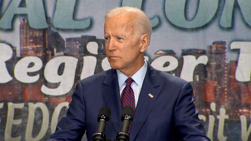 Joe Biden tries to clarify views on busing after tense exchange with Kamala Harris thumbnail