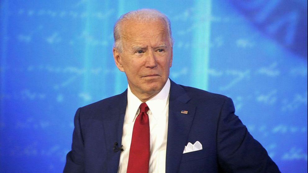 Read the full transcript of Joe Biden's ABC News town hall