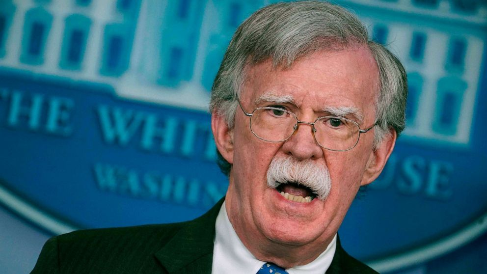 John Bolton criticizes White House 'censorship' ahead of his planned book release thumbnail