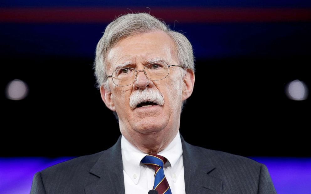 PHOTO:Former U.S. Ambassador to the United Nations John Bolton speaks at the Conservative Political Action Conference (CPAC) in Oxon Hill, Md., Feb. 24, 2017.
