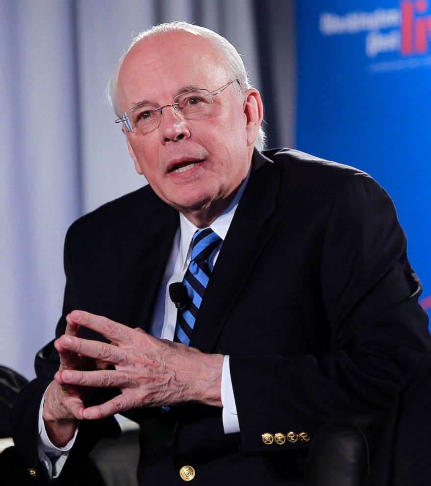 John Dean, White House counsel to President Nixon, speaks in Washington, D.C., during an event sponsored by the Washington Post to commemorate the 40th anniversary of Watergate, June 11, 2012.