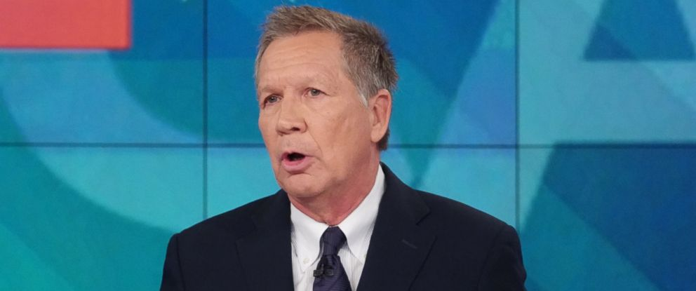 "PHOTO: Ohio Gov. John Kasich joined ""The View"" Nov. 5, 2018, ahead of Tuesdays midterm elections."