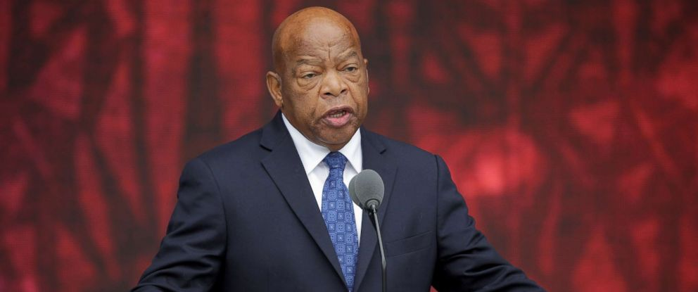 Rep. John Lewis speaks at the dedication of the Smithsonians National Museum of African American History and Culture in Washington, D.C., Sept. 24, 2016.