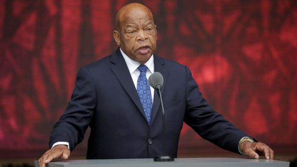 U.S. Rep. John Lewis hospitalized Saturday