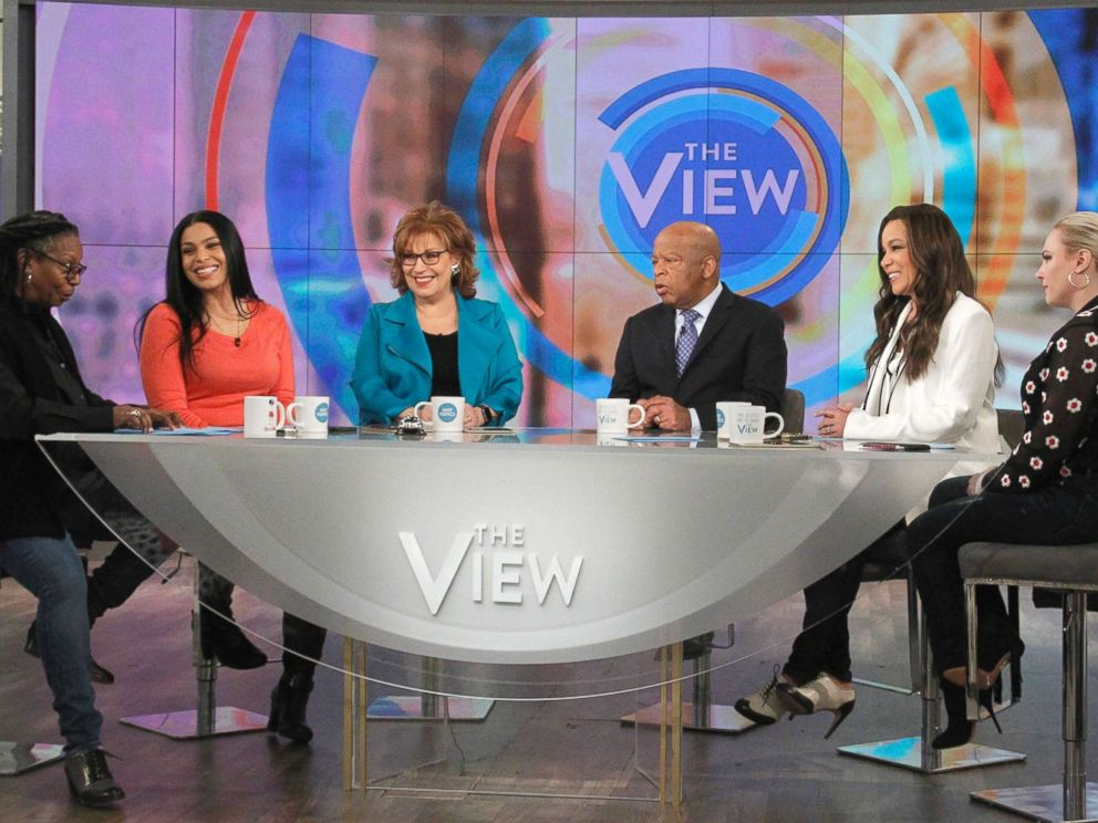 PHOTO: Sen. John Lewis joined The View to discuss how Martin Luther King Jr. would have dealt with the Trump presidency.