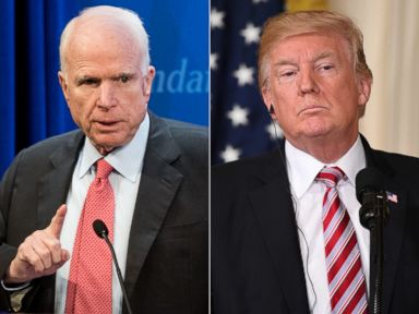 Politician Direct john-mccain-donald-trump-gty-jt-180408_hpMain_4x3t_384 McCain blames Syrian chemical attack on 'American inaction,' urges Trump to act ABC Politics  Politics