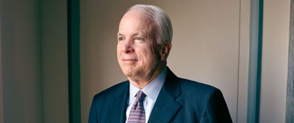PHOTO: Sen. John McCain poses for a portrait in Washington, D.C. in 2005.