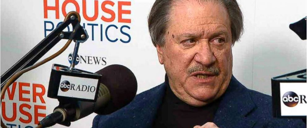 PHOTO: Joesph diGenova, Washington lawyer and legal confidante to President Donald Trump, speaks to ABCs Powerhouse Politics podcast.