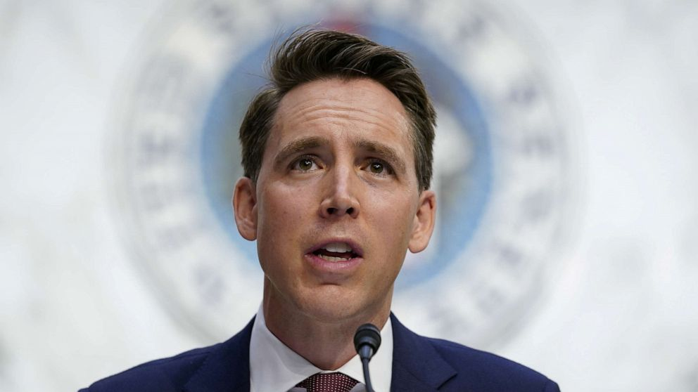 Wife of GOP Sen. Hawley files criminal complaint over protest at their home
