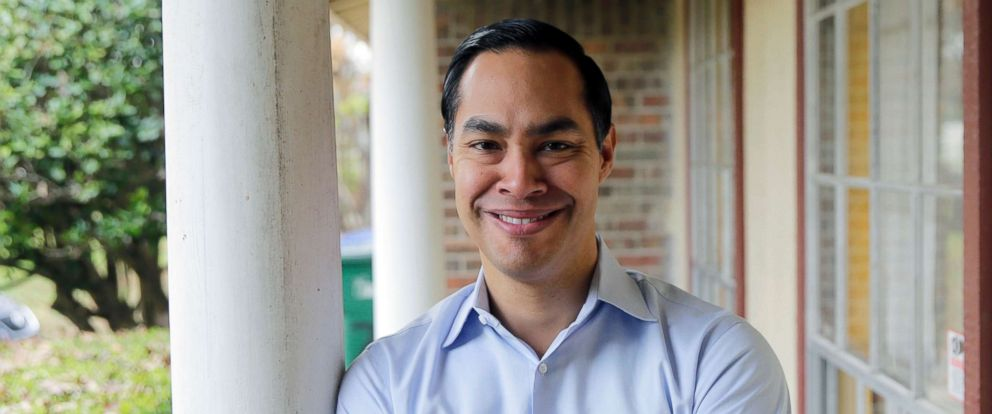 PHOTO: Democrat Julian Castro poses for a photo at his home in San Antonio, Texas, Dec. 11, 2018.