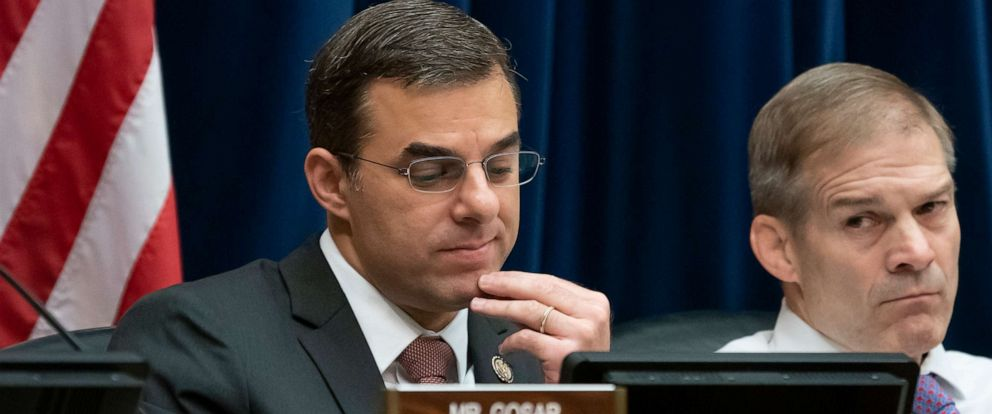 PHOTO: Rep. Justin Amash attends a committee meeting on Capitol Hill in Washington, June 26, 2019.