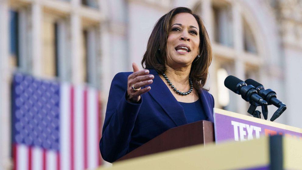 Kamala Harris befürwortet Joe Biden, der 9 ehemaligen Rivalen für seine Präsidentschaftskandidatur