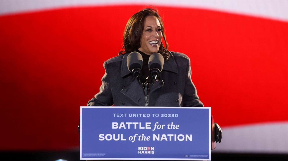 Kamala Harris Set To Make History As 1st Woman Of Color To Be Vice President Abc News