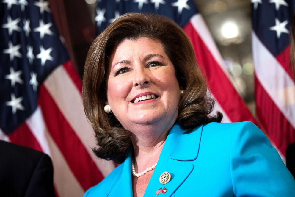 PHOTO: Representative-elect Karen Handel participates in a ceremonial swearing-in on Capitol Hill, June 26, 2017 in Washington, D.C.