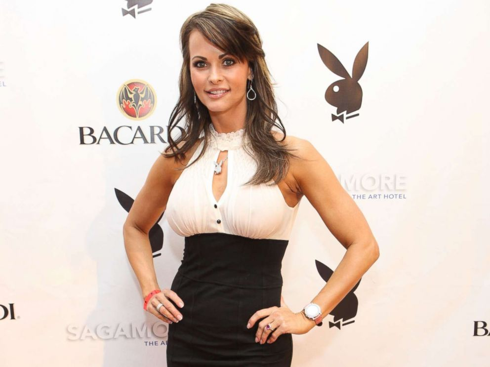 PHOTO: Karen McDougal attends a Playboy event in Miami on Feb. 6, 2010.