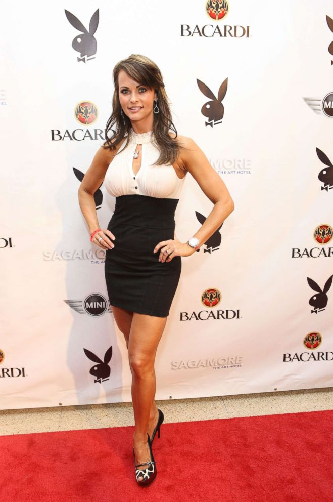 PHOTO: Karen McDougal, Playboy Playmate of the Year 1998 attend Playboys Super Saturday Night Party presented by Bacardi at Sagamore Hotel, Feb. 6, 2010, in Miami Beach, Fla.