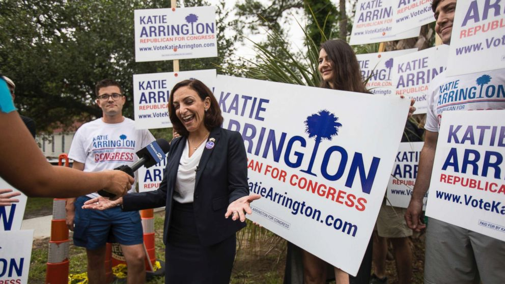 South Carolina congressional candidate Katie Arrington ...