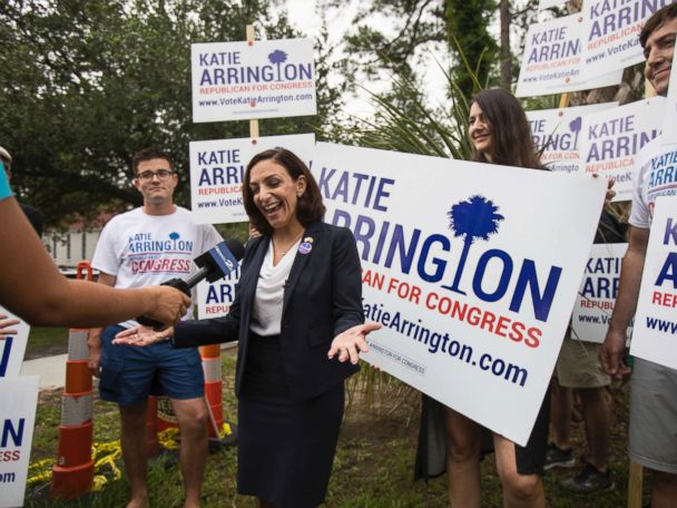 Pro-Trump congressional nominee Katie Arrington seriously injured in car crash