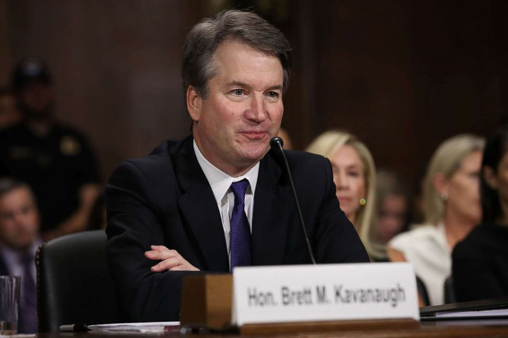 Brett Kavanaugh: Key US senators back embattled Supreme Court choice