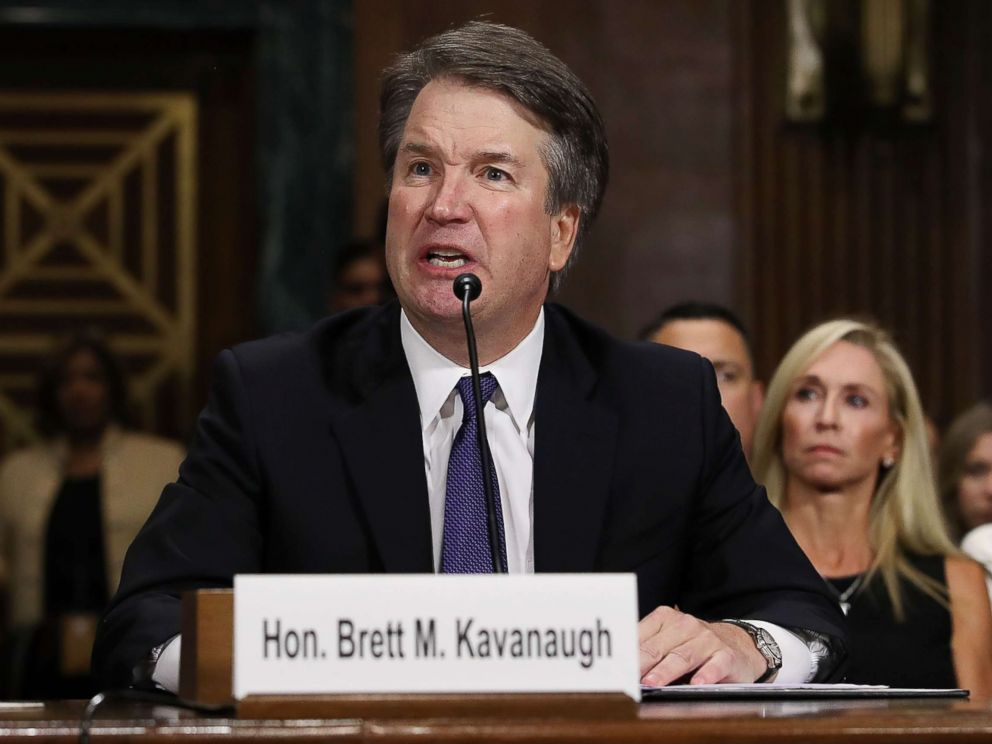 Republicans aim to confirm Brett Kavanaugh this weekend
