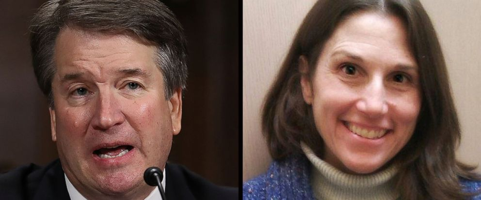 PHOTO: Judge Brett Kavanaugh,left,and Deborah Ramirez.