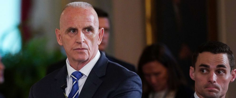 PHOTO: Director of Oval Office operations Keith Schiller attends the signing ceremony for the Department of Veterans Affairs Accountability and Whistleblower Protection Act of 2017, June 23, 2017.