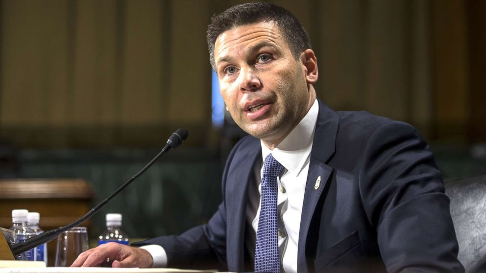 Commissioner of Customs and Border Protection Kevin McAleenan testifies during a Senate Judiciary Committee hearing on Dec.11, 2018, in Washington, D.C.