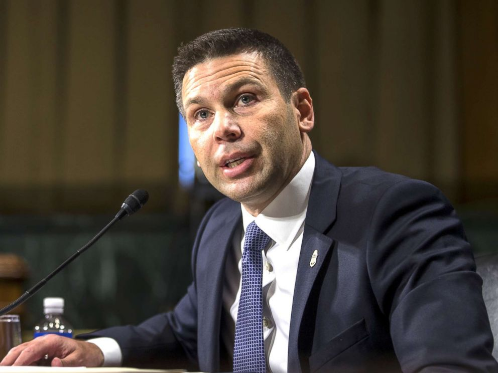 PHOTO: Commissioner of Customs and Border Protection Kevin McAleenan testifies during a Senate Judiciary Committee hearing on Dec.11, 2018, in Washington, D.C.