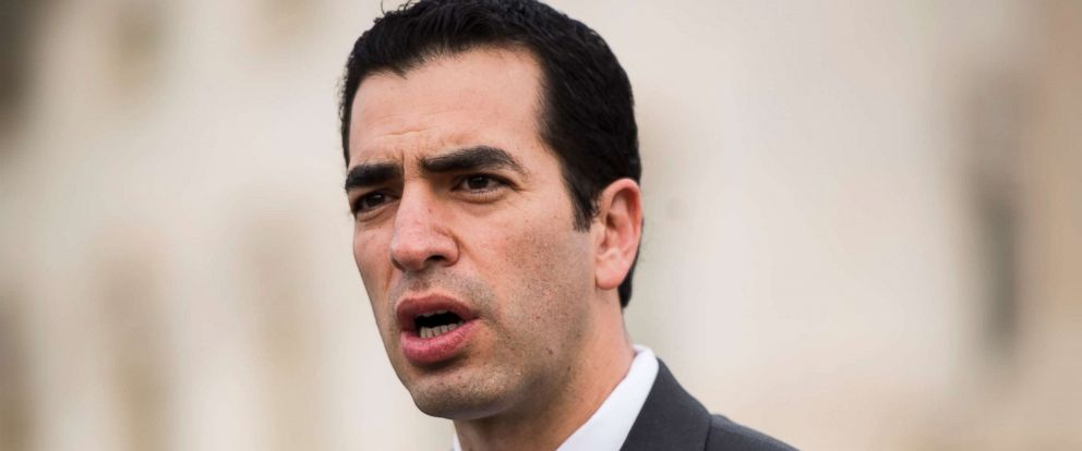 PHOTO: Rep. Ruben Kihuen, D-Nev., shown at a news conference on Capitol Hill, Nov. 1, 2017.