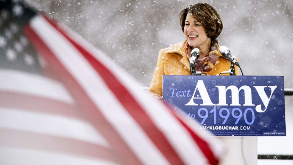 Amy Klobuchar, the 1st female senator from Minnesota, now a 2020 hopeful. Here's everything you need to know