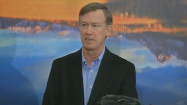 VIDEO: Gov. John Hickenlooper plans to meet with Attorney General on clarification with federal law.