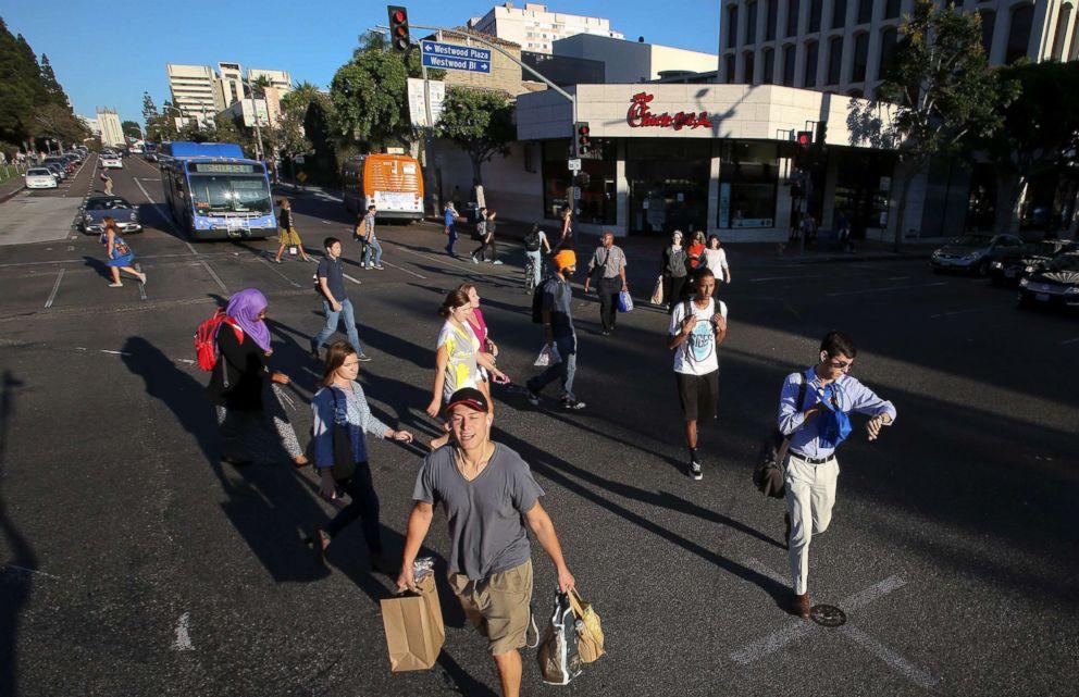 jaywalking california