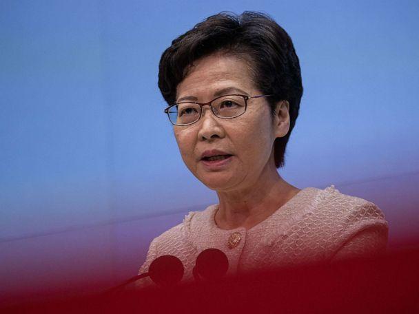 US sanctions Hong Kong leader, police commissioner, others for crackdown