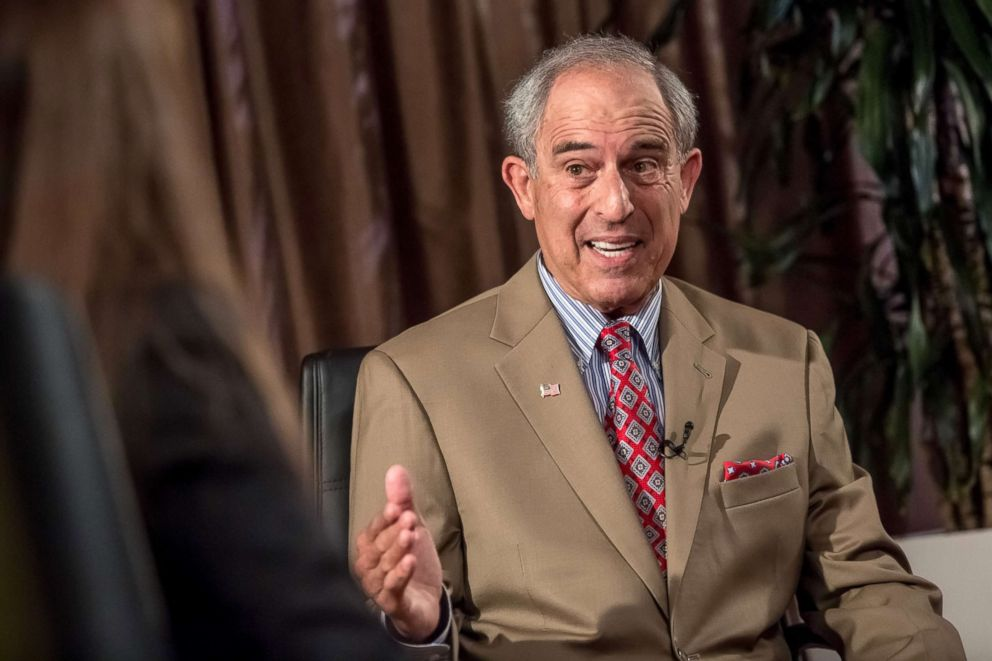 Bloomberg via Getty Images FILEAttorney Lanny Davis gestures as he speaks during an interview in Prague