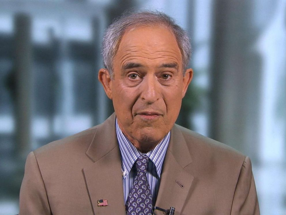 PHOTO: Lanny Davis, a lawyer representing Michael Cohen, speaks to Good Morning America, Aug. 22, 2018.