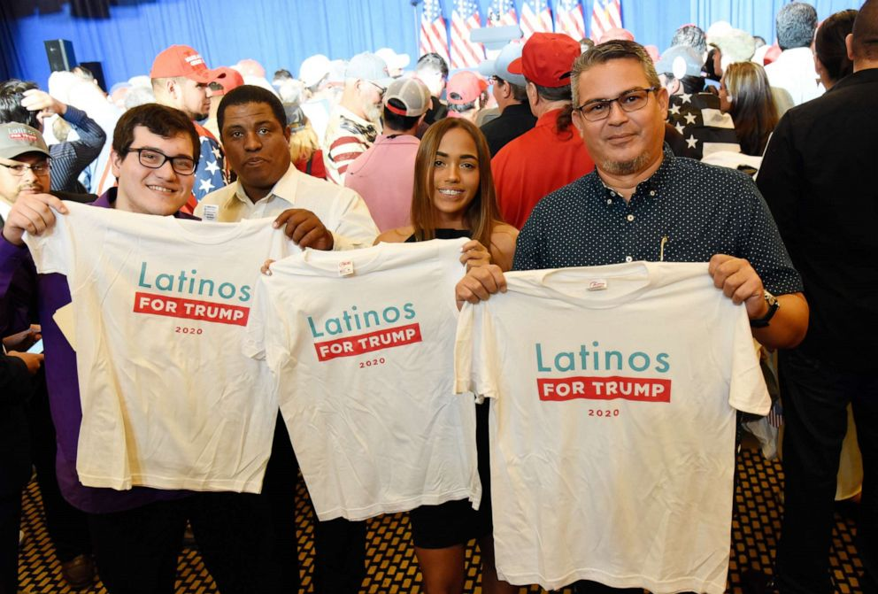 PHOTO: Vice President Mike Pence launches Rollout of Latinos for Trump Coalition in Miami, June, 25, 2019.