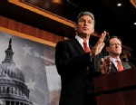 PHOTO: Joe Manchin and Patrick Toomey