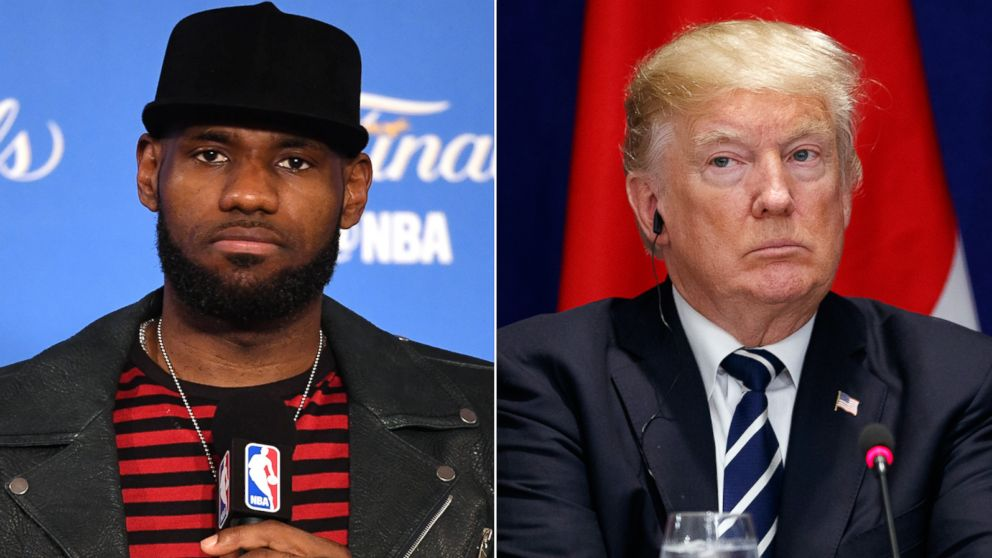 f93942fbd LeBron James to Trump   Going to White House was a great honor until you  showed up!  - ABC News