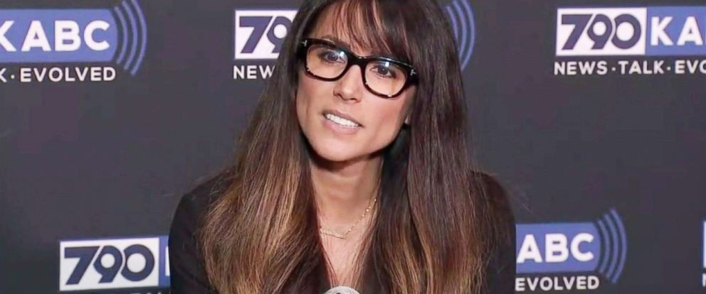 PHOTO: Los Angeles radio anchor Leeann Tweeden discusses her allegations of sexual harassment by Al Franken during a 2006 overseas USO tour, before he became a U.S. senator from Minnesota, at ABC7 studios in Glendale, Calif., Nov. 16, 2017.
