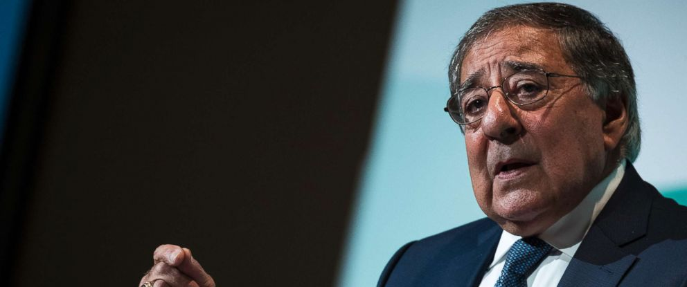 PHOTO: Leon Panetta speaks during a discussion on countering violent extremism, at the Ronald Reagan Building and International Trade Center, Oct. 23, 2017 in Washington, D.C.