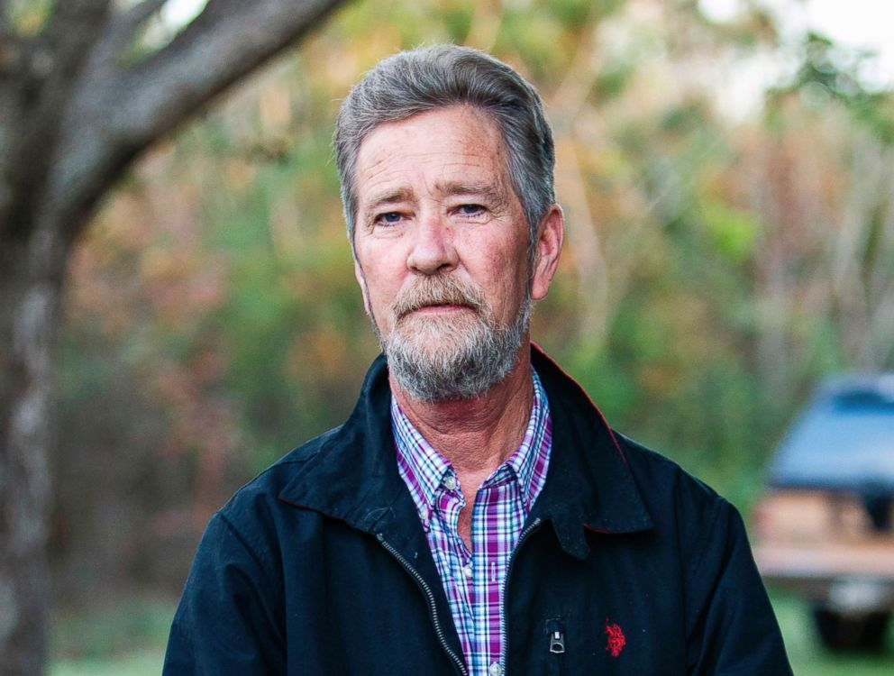 In this Dec. 5, 2018, file photo, Leslie McCrae Dowless Jr. poses outside his home in Bladenboro, N.C.
