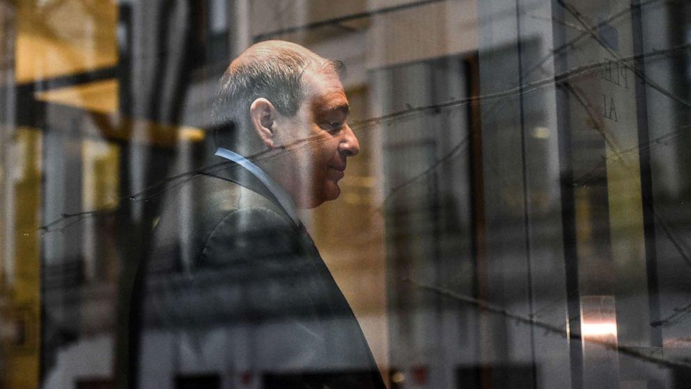 Giuliani准textedとトランプキャンペーンのドナーを含むウクライナの取組み