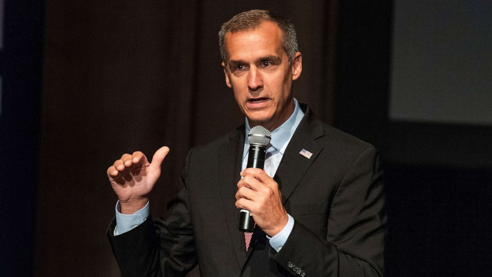 Corey Lewandowski does not join Trump on stage at New Hampshire rally amid Senate run speculation