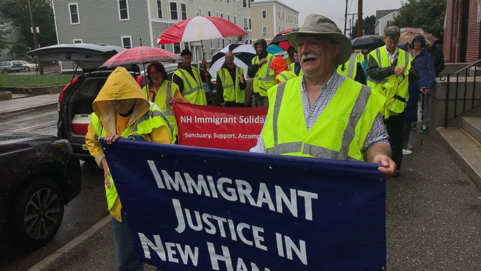 Democratic candidate Lincoln Soldati is walking 40 miles for immigration justice.